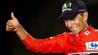 Nairo Quintna z týmu Movistar vyhrál letošní Vueltu.