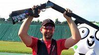 Střelec Tomáš Nýdrle se snaží probojovat na OH do Tokia.