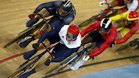 Olympijský závod v keirinu (ilustrační foto)