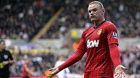 Kanonýr United Wayne Rooney.