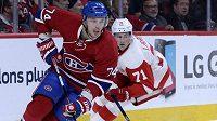 Alexej Jemelin (74) s Montrealem bude v play off NHL chybět, detroitský Dylan Larkin (71) ještě má šanci na postup.