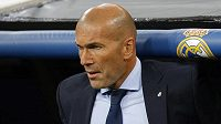 Kouč Realu madrid Zinedine Zidane.