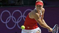 Maria Šarapovová na olympijském turnaji v Londýně.