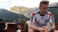 Marco Reus absolvoval část závěrečné přípravy s německýcm týmem, ale z MS ho vyřadilo zranění kotníku.