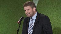 Kouč české futsalové reprezentace Tomáš Neumann převzal již podeváté cenu pro nejlepšího futsalového trenéra roku.