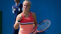 Karolína Muchová během US Open.
