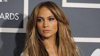 Jennifer Lopezová v minulosti při vyhlašování cen Grammy v Los Angeles.