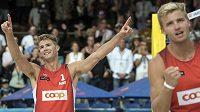 Norští plážoví volejbalisté Anders Mol a Christian Sörum překvapivě vyhráli mistrovství Evropy.