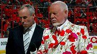 Don Cherry a karafiátová variace obleku.