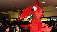 Fotbalový Liverpool představil svého nového maskota.