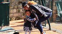 Serena Williamsová se svou dcerou Alexis