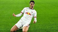 Patrik Schick vymění v rámci bundesligy dres Lipska za Bayer Leverkusen.