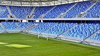 Nový fotbalový stadion v Bratislavě.