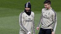 Útočník Luka Jovič si těsně před návratem Realu Madrid k tréninku zlomil patní kost na pravé noze a podle vyjádření klubu ho čeká zatím neupřesněná pauza.