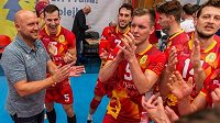 Volejbaloví Lvi Praha chtějí v příští sezoně zaútočit na mistrovský titul.