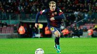 Barcelonský talent Gerard Deulofeu bude hrát v příští sezóně Premier League za Everton.