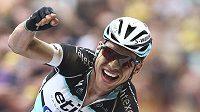 Němec Tony Martin celebrates se raduje z triumfu ve čtvrté etapě Tour de France.