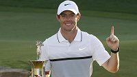 Vítěz European Tour Rory McIlroy ze Severního Irska.