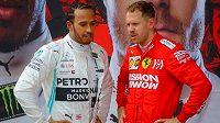 Lewis Hamilton si možná vymění kombinézu se Sebastianem Vettelem.
