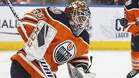 Cam Talbot ještě v dresu Edmontonu Oilers.