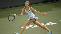 Česká tenistka Karolína Plíšková na turnaji WTA v americkém Indian Wells.