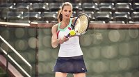 Světová jednička Karolína Plíšková představila svůj nový úbor pro US Open. Už pár týdnů byla zasnoubená.