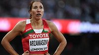 Mistryně světa a Evropy v běhu na 800 metrů Marina Arzamasovová dopovala a komise pro bezúhonnost atletiky jí zastavila činnost.