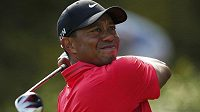 Americký golfista Tiger Woods během British Open.