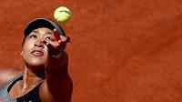 Naomi Ósakaová při letošním French Open.