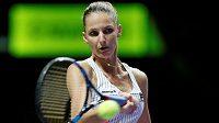 Tenistka Karolína Plíšková vstoupila vítězně do Turnaje mistryň v Singapuru. V Bílé skupině porazila Američanku Venus Williamsovou 6:2, 6:2.