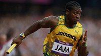 Jamajský sprinter Yohan Blake nedá hodinky z ruky.