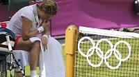 Belgická tenistka Kim Clisjstersová první kolo olympiády proti Robertě Vinciové zvládla