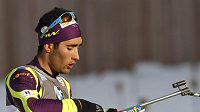 Francozský biatlonista Martin Fourcade