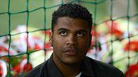 Brazilský fotbalista Breno.