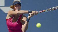 Petra Kvitová vyřadila ve 3. kole US Open Francouzku Parmentierovou.