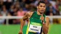 Světový rekordman na čtvrtce Wayde van Niekerk ozdobí svým startem Zlatou tretru.