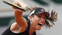 Britka Johanna Kontaová, semifinálová soupeřka Markéty Vondroušové na French Open.