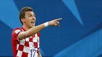 Chorvat Mario Mandžukič se střelecky proti Kamerunu prosadil hned opakovaně.
