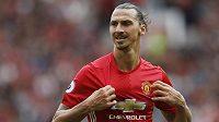 Zlatan Ibrahimovic se trefil i v derby proti Manchesteru City.