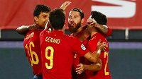 Navýsost spokojený byl trenér španělské fotbalové reprezentace Luis Enrique po nedělní výhře 4:0 nad Ukrajinou ve druhém utkání skupiny A4 Ligy národů.