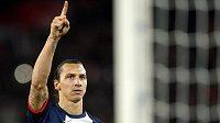 Švédský útočník Zlatan Ibrahimovic.
