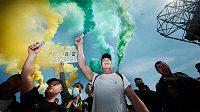 Fanoušci Premier league protestují před stadiony