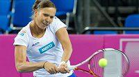 Česká tenistka Lucie Hradecká.