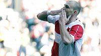 Martin Latka se raduje, právě vstřeli vedoucí gól Slavie v derby proti Spartě.