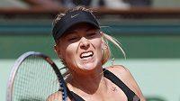 Ruská tenistka Maria Šarapovová na French Open