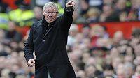 Trenér Manchesteru United Alex Ferguson si v derby nepřipouští neúspěch