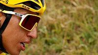 Egan Bernal bojuje o vítězství na Tour de France.