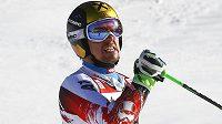 Rakouský lyžař Marcel Hirscher vyhrál obří slalom Světového poháru v Alta Badii.