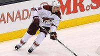 Hokejový obránce Rostislav Klesla ještě v dresu Phoenixu.
