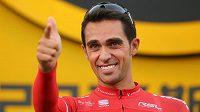 Bývalý španělský cyklista Alberto Contador.